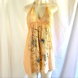 Miss Me halter backless dress Size small